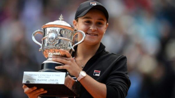 Roland-Garros: du cricket au tennis, Barty n'est pas revenue pour rien