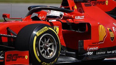 F1: Canada, Vettel è in pole