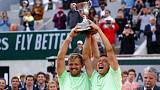 Unseeded Germans Krawietz and Mies take men's doubles title in Paris