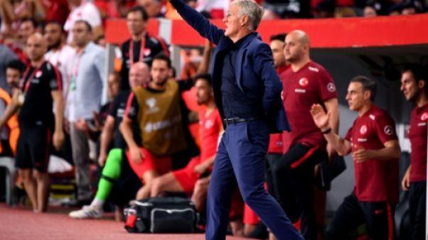 """Qualifs Euro-2020: """"Un non match de notre part"""", regrette Deschamps"""