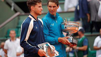 Factbox: Dominic Thiem versus Rafa Nadal