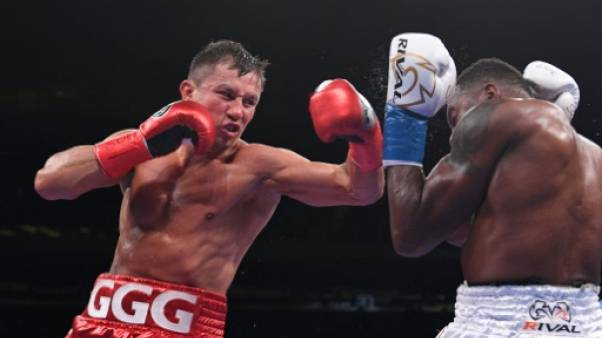 Boxe: retour gagnant pour Golovkin, en attendant Alvarez
