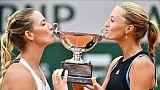 Roland-Garros: Mladenovic, N.1 mondiale lundi, sacrée en double dames