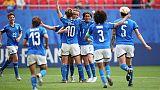 Mondiali donne, Italia-Australia 2-1