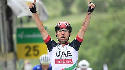 Ciclismo, Ulissi vince il gp di Lugano