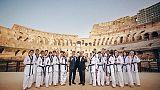 Taekwondo: show azzurri al Foro Italico