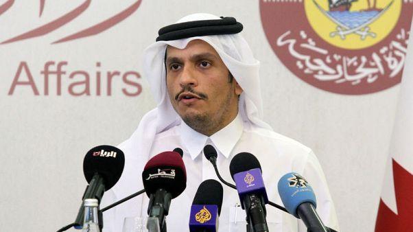 قطر تقول أمريكا بحاجة لإشراك الفلسطينيين في خطة السلام