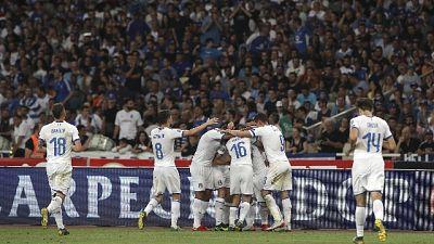 Azzurri arrivati a Torino