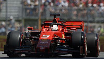 F1:Canada,Ferrari Vettel scatta in testa