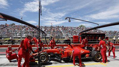 Ferrari Vettel comanda a metà Gp Canada