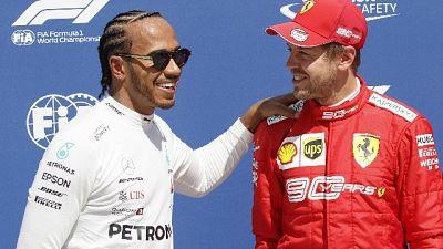 Vettel 1/o, ma penalità premia Hamilton