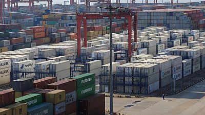 China exports grow despite U.S. tariffs, but imports slump most in nearly three years