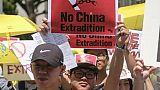 Hong Kong maintient son projet de loi d'extraditions malgré les manifestations