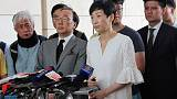 Hong Kong lawmaker gets suspended sentence over 'Occupy' charges