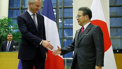 Japan's Seko, France's Le Maire to meet at 0900 GMT - ministry
