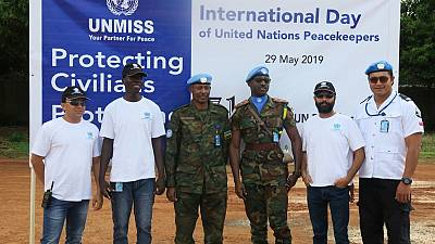 Senior Rwandan military in Aweil: Peacekeepers are the eyes and ears of the United Nations (by Emmanuel Kele)