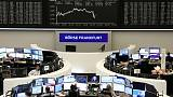 European shares gain on Mexico tariff relief