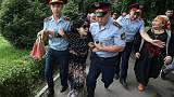 منظمة: انتهاكات للحريات الأساسية شابت انتخابات قازاخستان