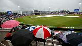 Desperate South Africa in trouble at rain delay in must-win clash