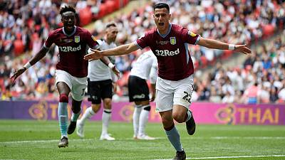 Villa sign winger El Ghazi on permanent deal from Lille