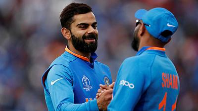 India's Kohli mutes premature semis talks despite strong start