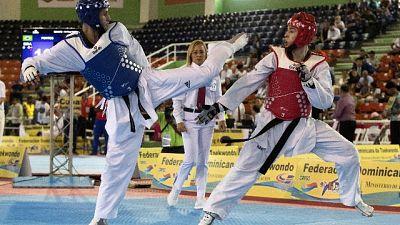 Taekwondo, un calzino tech a Napoli 2019
