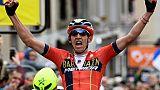Dauphiné: coup double pour le Belge Teuns