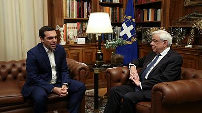 Greece must hold snap election, PM tells president