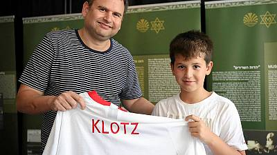 Poland honours national soccer player murdered in Holocaust