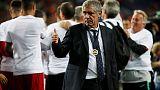 Unlikely hero Santos rebuilds Portugal in his low-key style