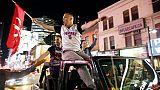 """NBA: Toronto prise d'un accès de """"Raptors-mania"""""""