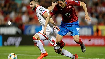 Czechs beat Montenegro 3-0 for second straight win