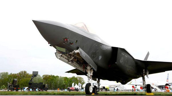 Turkish F-35 pilots no longer flying at U.S. base - Pentagon
