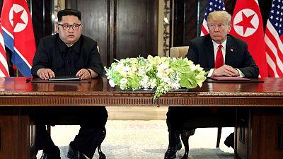 North Korea urges U.S. to change 'hostile policy' on eve of summit anniversary