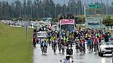 Giro: Carapaz accueilli en héros à Quito