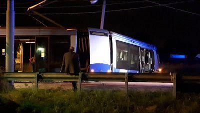 Deraglia tram monorotaia a Padova,feriti