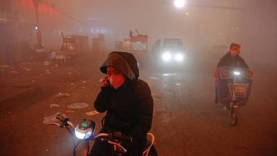 China smog hotspot Hebei meets air standard for first time in May - government