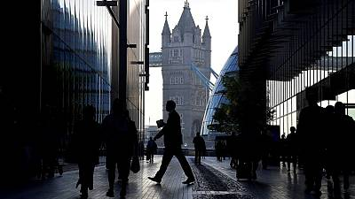 UK April pay data beats forecasts, employment growth slows