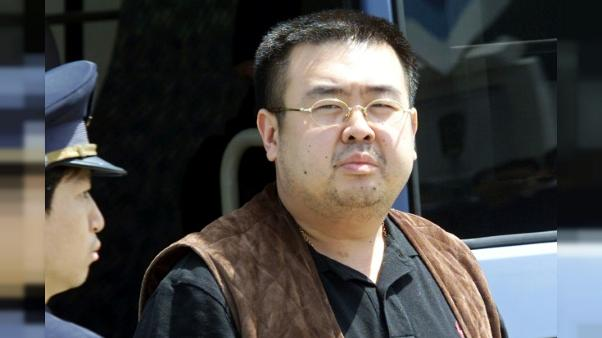 Photo, datée du 24 mai 2001, de Kim Jong Nam à l'aéroport international de Narita, près de Tokyo