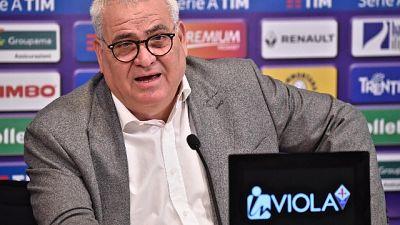 Fiorentina: Corvino, l'addio è ufficiale