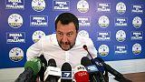 Ue: Salvini, obiettivo è ridurre tasse