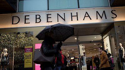Britain's Debenhams receives Sports Direct challenge to restructuring