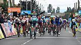 Sam Bennett vainqueur au sprint de la 3e étape du Critérium du Dauphiné à Riom, le 11 juin 2019