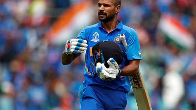 Oval and out? Dhawan injury upsets India plans
