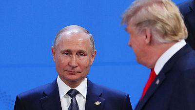 Kremlin says idea of Putin-Trump meeting at G20 in Japan up in air