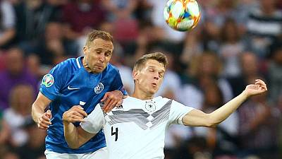Germany crush Estonia 8-0, Northern Ireland earn late win