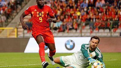 Lukaku double helps Belgium beat Scotland 3-0 in Euro 2020 qualifying