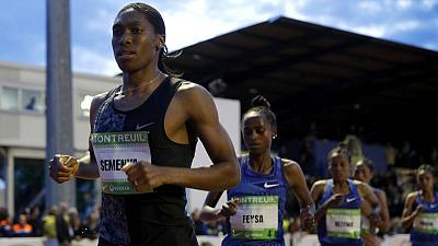 Semenya wins in Montreuil, intends to defend 800m world title
