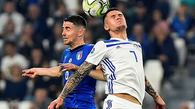 Italy strike back to beat Bosnia as Greeks are stunned