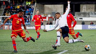France enjoy therapeutic win at Andorra as Turkey lose to Iceland